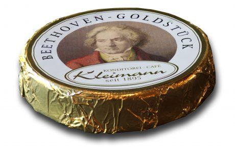 Beethoven Goldstück Praline