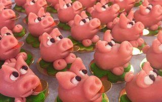 Marzipan piggy